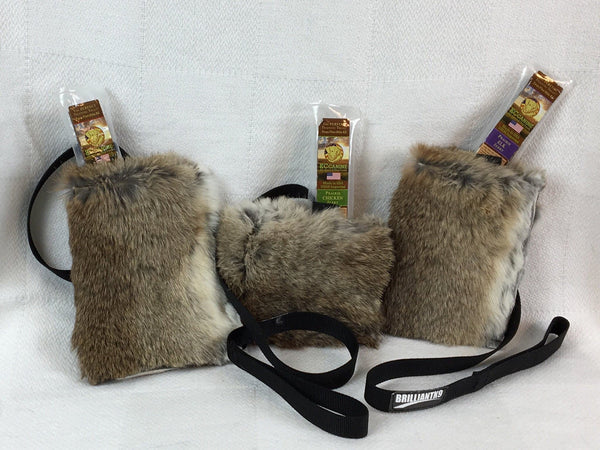 BrilliantK9 Natural Rabbit Bait/Treat Bags