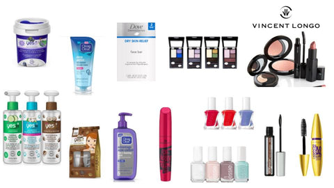 Personal Care, Cosmetics & Nail Polish Variety
