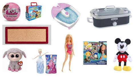 General Merchandise Variety by Conair, CrockPot, TY, LOL, Disney &  More