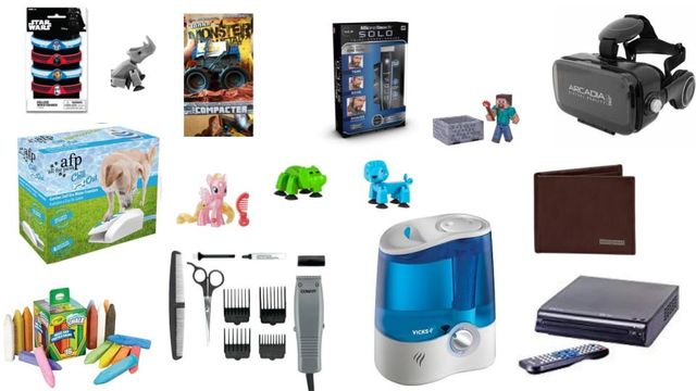 Swiss Gear, Conair, Craig, Vicks, Star Wars, As Seen On TV, Tonka & More General Merchandise