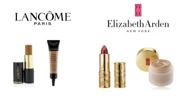 Mind Blowing Cosmetics by Elizabeth Arden & Lancome: Foundation, Concealer, Lipstick