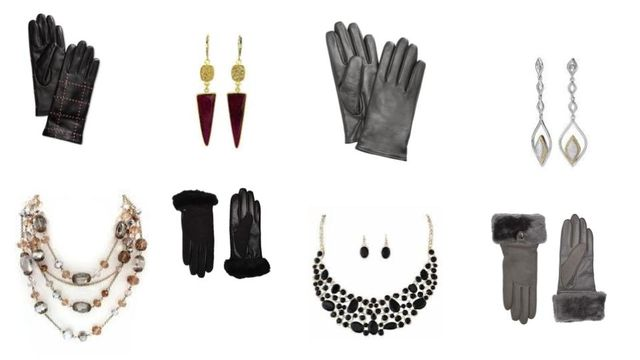 UGG & Charter Club Winter Gloves + Fashion Jewelry - Perfect for Holiday Resale