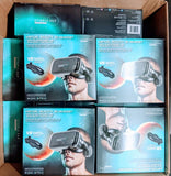 ReTrak Utopia 360 VR Headset with Built in Headphones - Black - Case Packed
