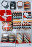 Missoni 4 Pack Plates, Bowls, Tumbler & Soy Wax Candles - Case Packed