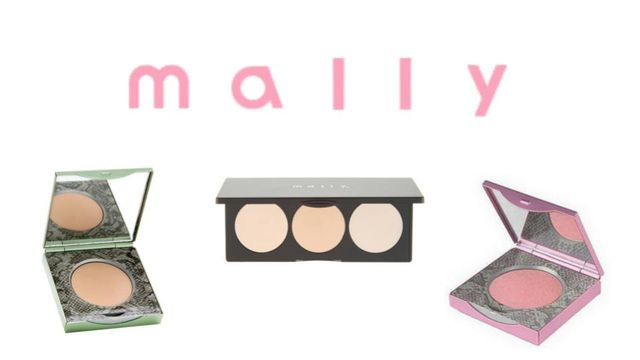 Small 50 Unit Case Packed Mally Beauty Liquidation- Foundation, Eyeshadow, Lipcolor, Powder. BRAND NEW