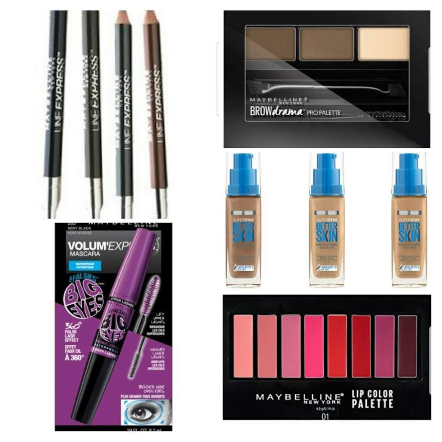 Maybelline Liquidation Cosmetics
