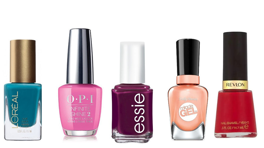 Brand Name Nail Polish Color Variety