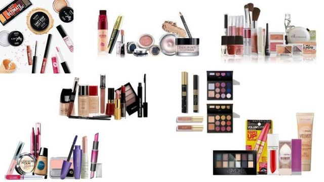 Cosmetics Variety Elizabeth Arden, Covergirl, Maybelline, L'Oreal, Revlon & More