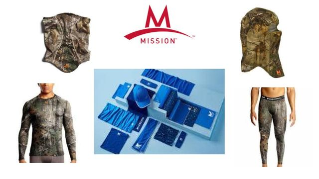 Mission Vaporactive & Cooling Gear: Baselayers, Headgear, Towels & Much More - Resale Ready