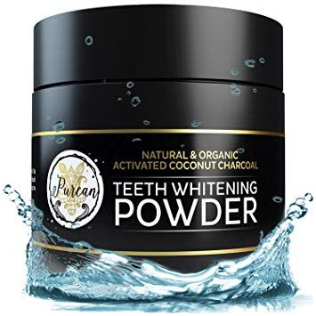 Teeth Whitening Activated Coconut Charcoal Powder - 2oz -