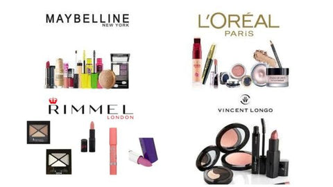 Mixed Cosmetics Variety by L'Oreal, Vincent Longo, Maybelline & Rimmel - Resale Ready
