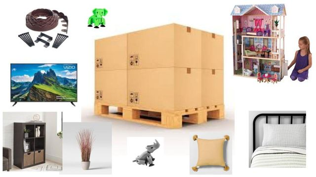 Distribution Center Overstock by Vizio, Hearth & Hand, Kidkraft, Mainstays, Better Homes