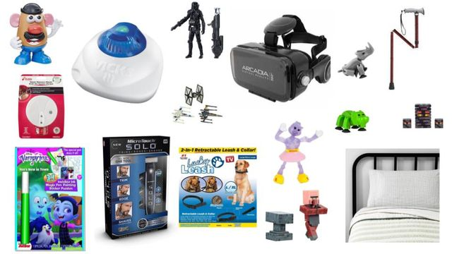 Toys, VR Sets, Bedding, Fashion Jewelry, Vick, Minecraft & More Mixed General Merchandise