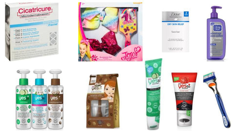 Personal Care Variety Dove, Gillette, Yes To & More