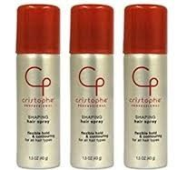 Christophe Professional Shaping Hair Spray Flexible Hold 1.5 Oz  - Case Packed -