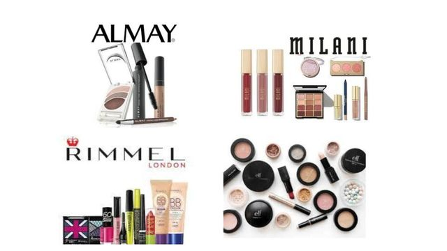 Hand Selected Cosmetics by Milani, Rimmel, Almay & Elf - Foundation, Mascara, Lipstick & More
