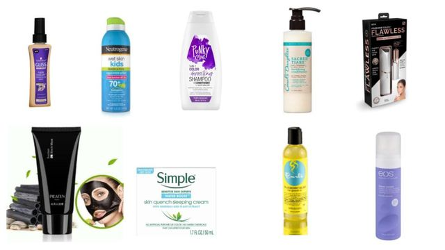 Personal Care Variety Neutrogina, Simple, Carol's Daughter and More