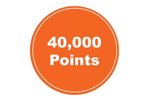 40,000 Annual Points