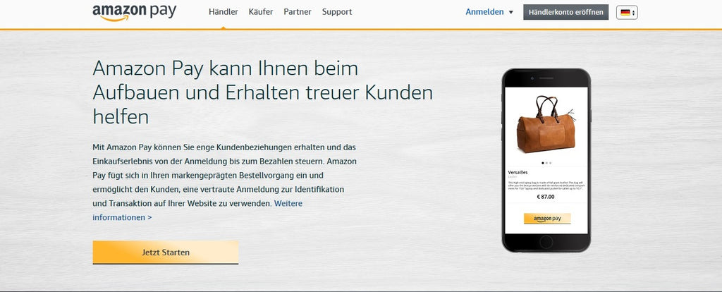 Amazon Pay einrichten im Onlineshop - eshop guide