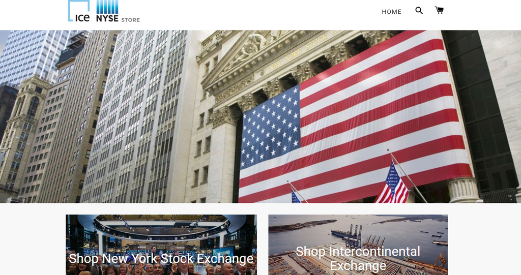 New York Stock Exchange bei Shopify - Eshop Guide