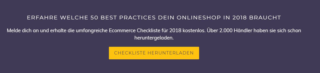 Newsletter Abo - Eshop Guide