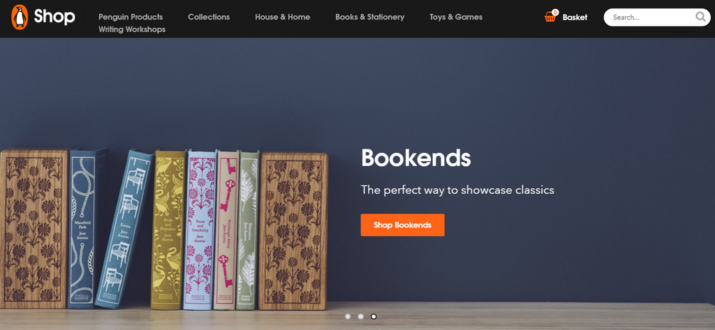 Penguin Books bei Shopify - Eshop Guide