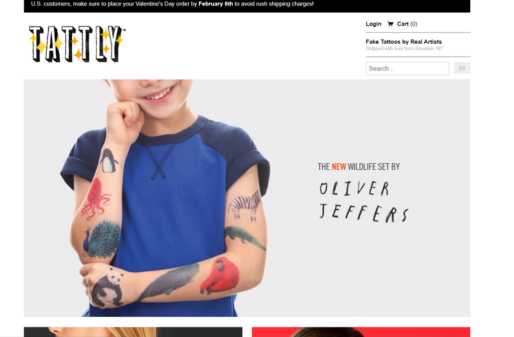 Tattly bei Shopify - Eshop Guide