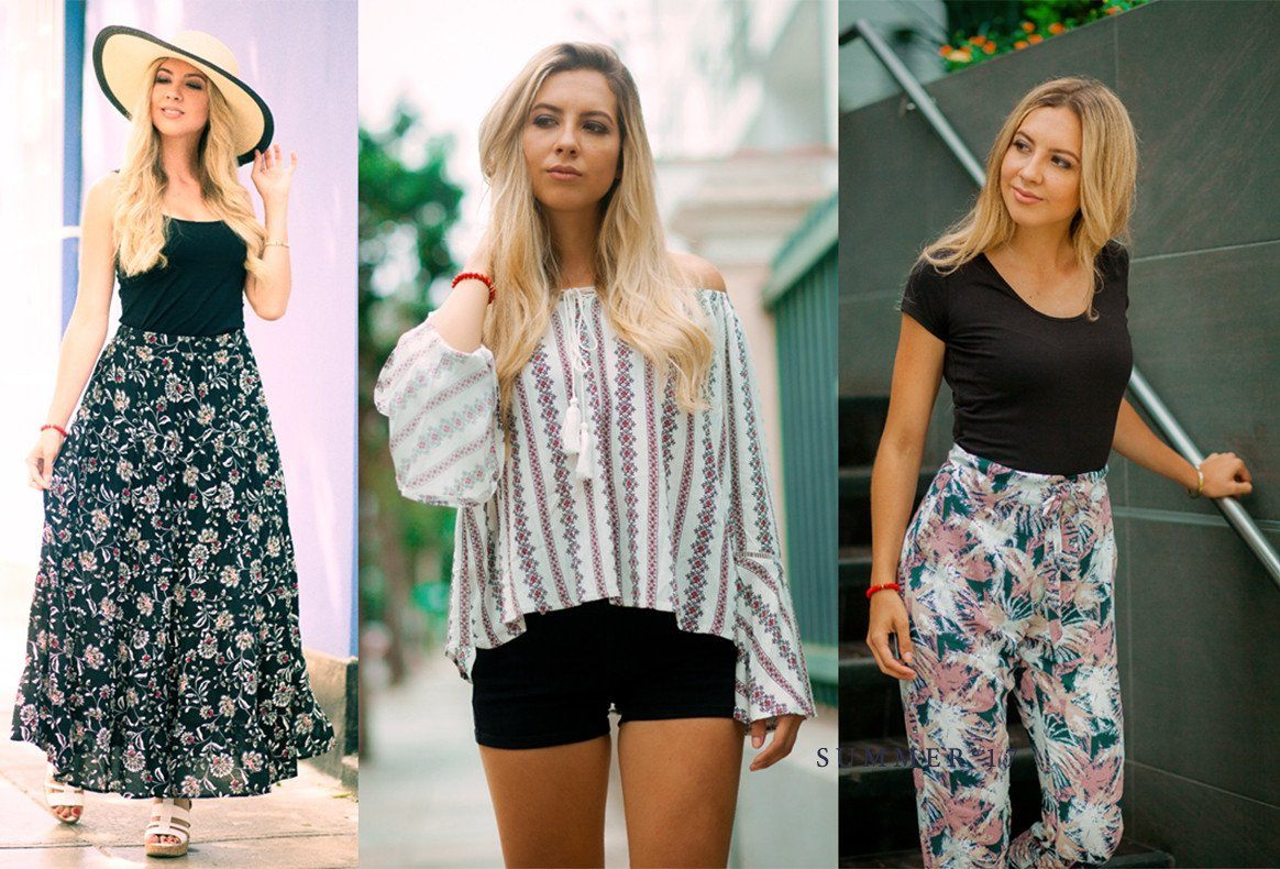 3 LOOKS FRESCOS CON ESTAMPADOS - An Madame