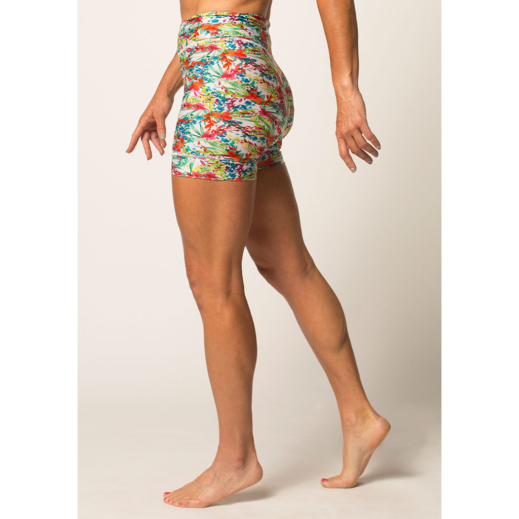 Women's High-Waist Padded Bike Short
