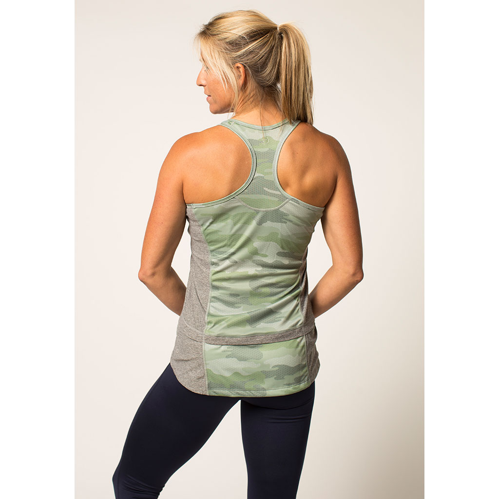 Women's Three-Pocket Racerback Tank