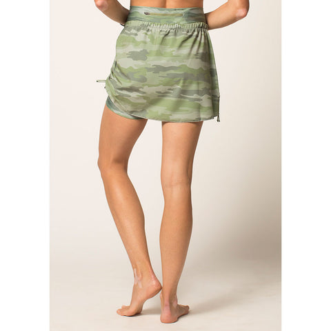 Women's Side Cinch Skirt Cover Up