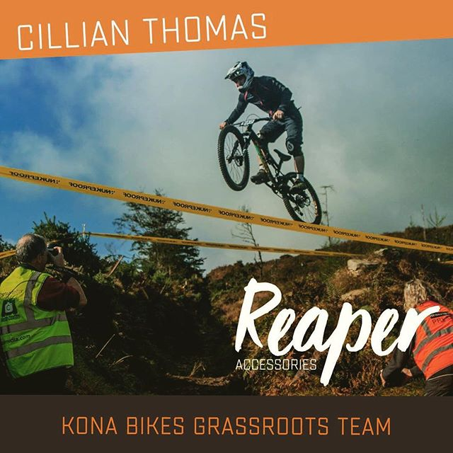 Reaper Accessories sponsors Cillian Thomas