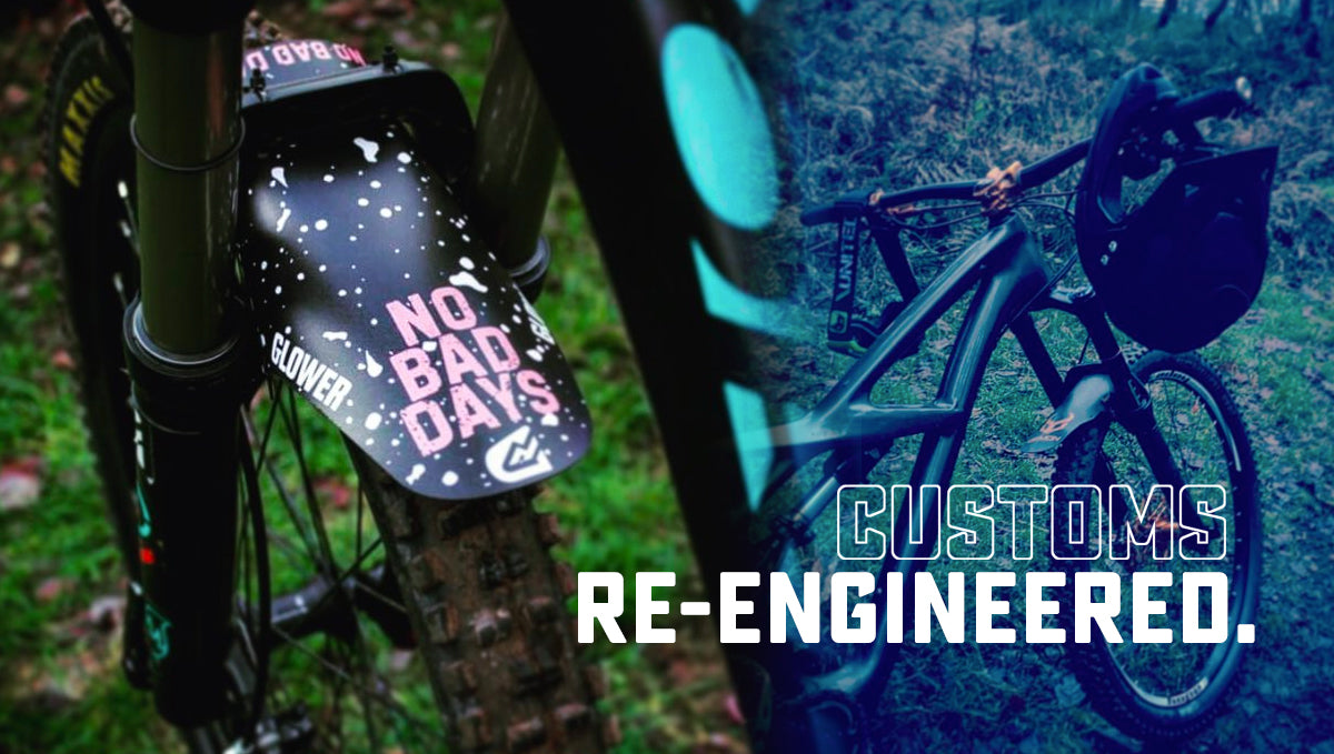 Create your own custom mudguard - now easier than ever!