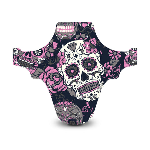 Candy Skull Pink Mudguard