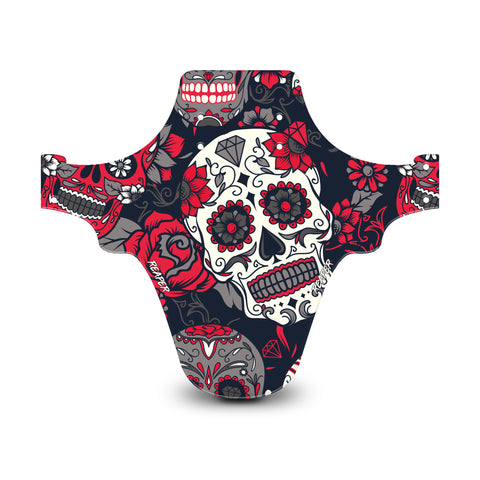 Candy Skull Red Mudguard
