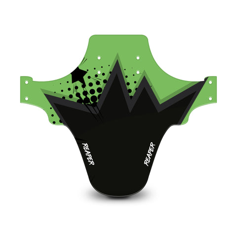 Pop Art Green & Black Mudguard