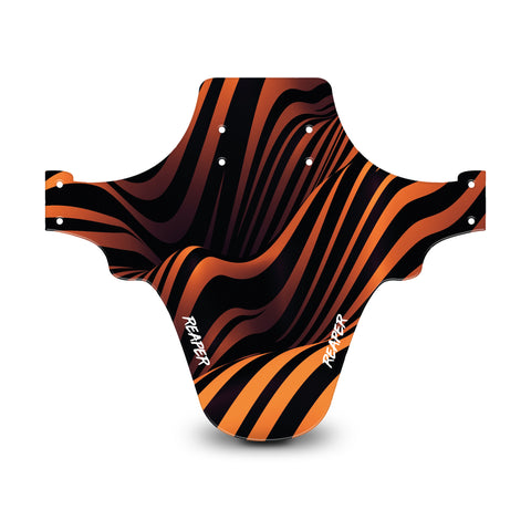 Tribal Stripes Orange Mudguard