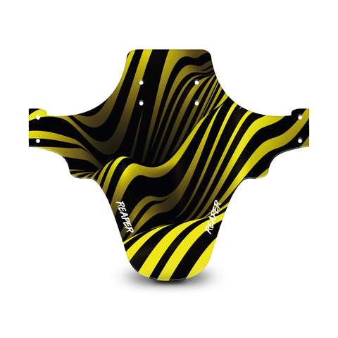 Tribal Stripes Yellow Mudguard