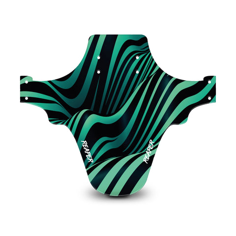 Tribal Stripes Mint Mudguard