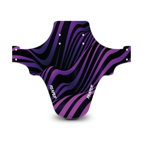 Tribal Stripes Purple Mudguard