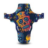 Candy Skull Blue Mudguard