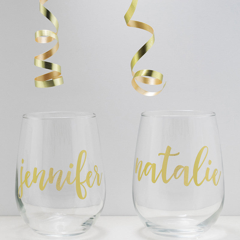 Bachelorette Party Wine Glasses