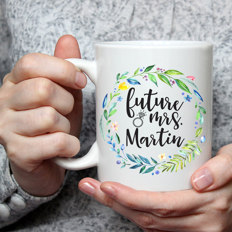 Future Mrs. Custom Coffee Mug