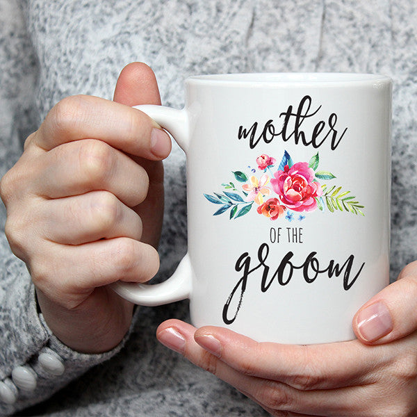 Mother Of The Groom Wedding Mug