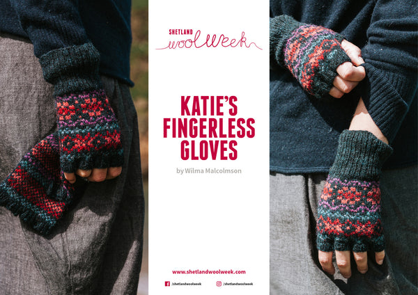 Katie's Fingerless Gloves Pattern