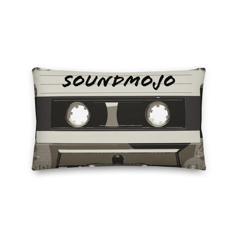 SoundMojo Retro Cassette Pillow