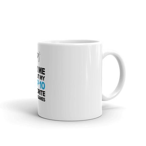 Top 10 Favorite Video Games Mug