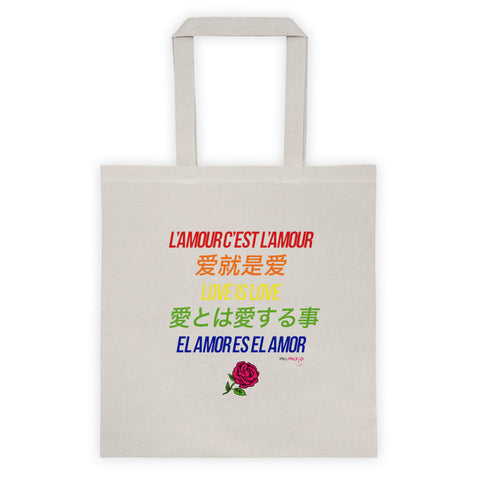 Love is Love Color Tote bag