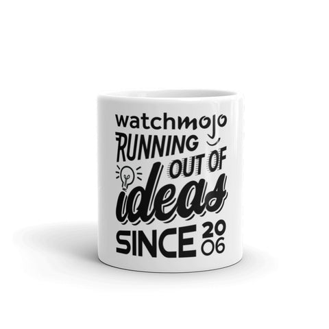 Running Out of Ideas Since 2006 Mug