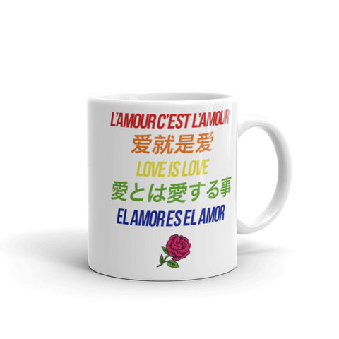 Love is Love Color Mug